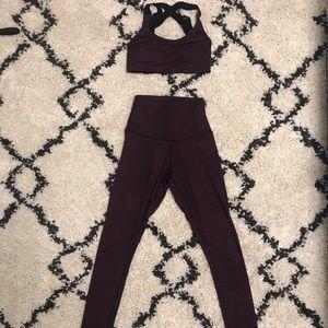 DYI matching set-bra and leggings